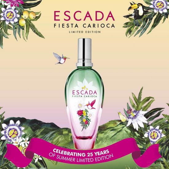 La chaleur florale et fruitée de Fiesta Carioca d'Escada
