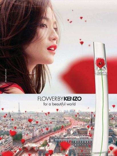 Une campagne publicitaire audacieuse pour Flower de Kenzo