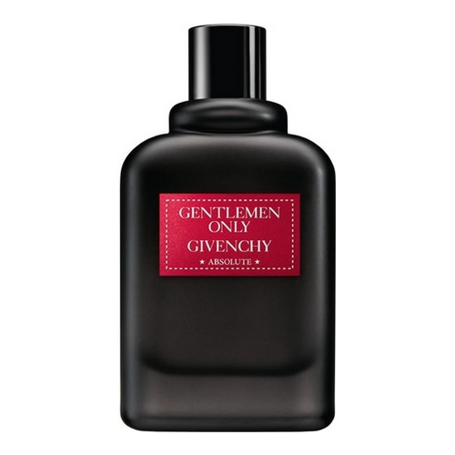 La bouteille de l'absolu gentleman selon Givenchy