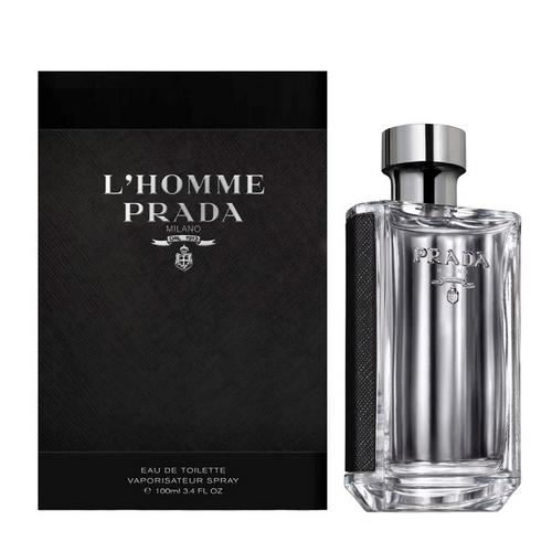 La fragrance de Prada L'Homme