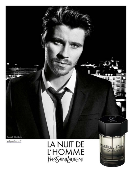 la nuit de l 39 homme ysl la pub tendance parfums. Black Bedroom Furniture Sets. Home Design Ideas