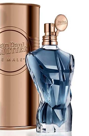 Le flacon Le Male moderniser pour son Essence de Parfum