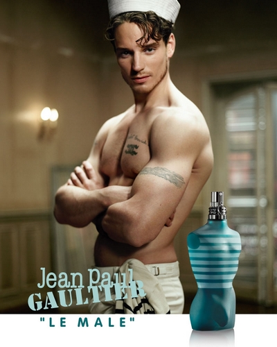 Pub Le Male de Jean Paul Gaultier