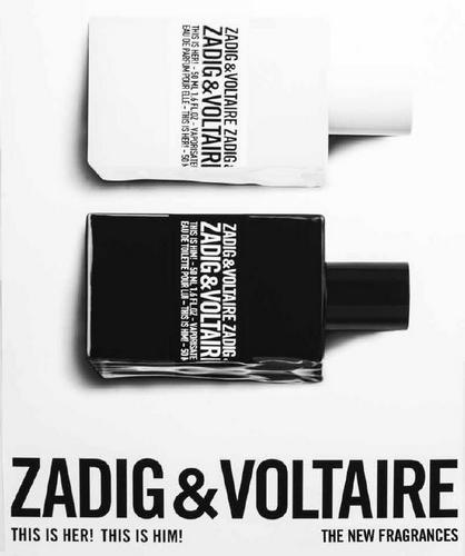 La publicité de This is Him de Zadig & Voltaire