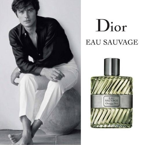 Alain Delon pour Eau Sauvage de Dior