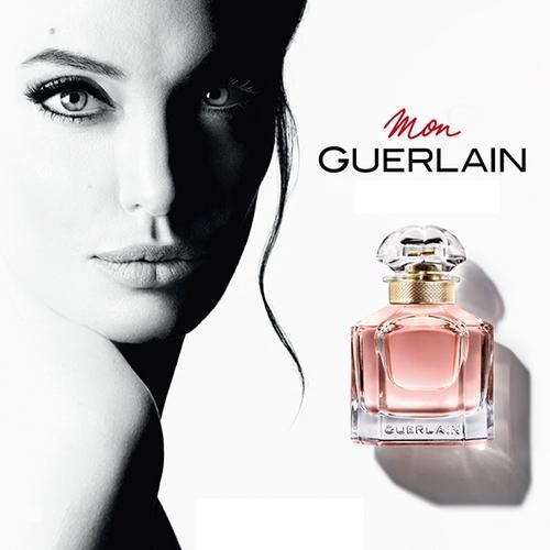 Angelina Jolie s'associe à Guerlain pour Mon Guerlain