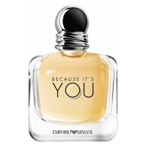 6 – Giorgio Armani avec Because It's You