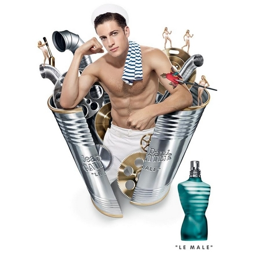 Chris Bunn, le marin sculptural du Male Jean Paul Gaultier