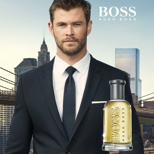 Chris Hemsworth, le visage de Boss Bottled d'Hugo Boss