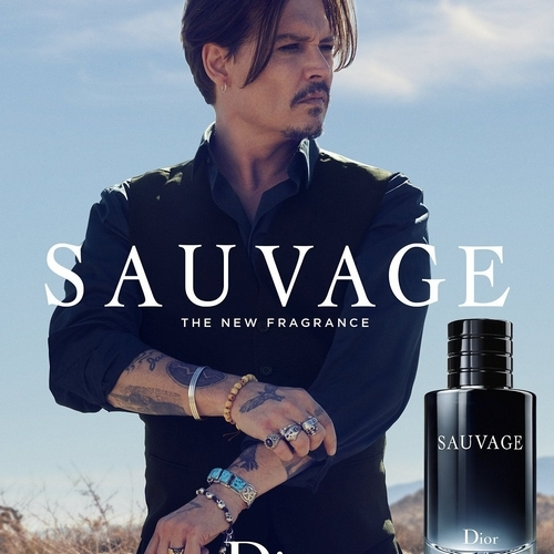 Johnny Depp, incarnation du parfum Sauvage de Dior